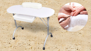 Portable Folding Manicure Table