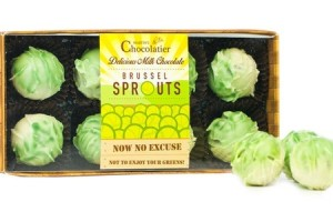 Novelty Chocolate Brussel Sprouts - Goods