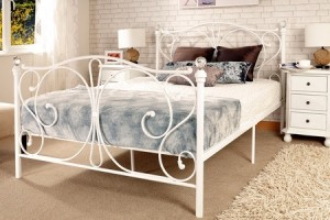 78% Off Crystal Bed Frame and Mattress - Goods
