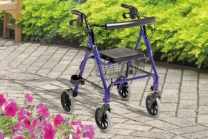 46% Off Four-Wheel Aluminium Walker - Goods